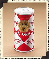 1950's Style Coke® Can Boyds Bear
