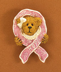 2008 Horizon Of Hope Pin Boyds Bear