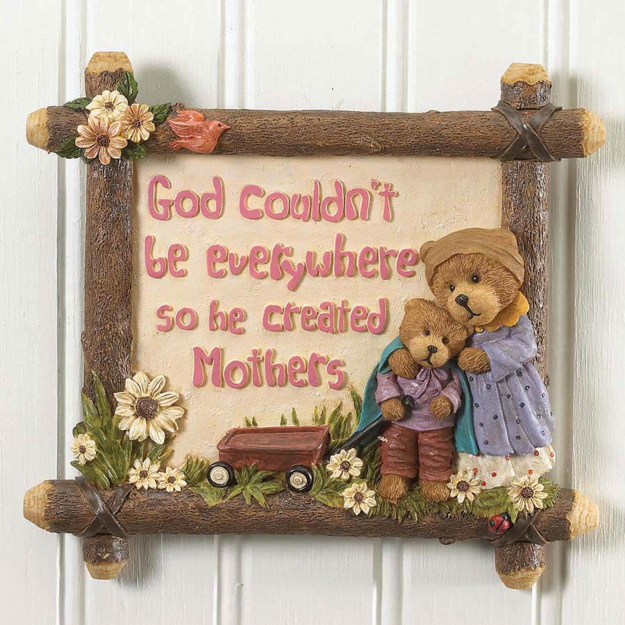 A Mother's Love Wall Tile Boyds Bear