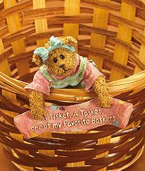 A Tisket A Tasket Basketsitter Boyds Bear