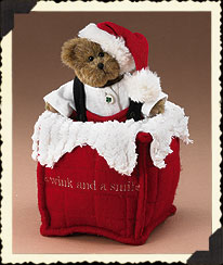 A Wink And A Smile Chimney Pillow Boyds Bear