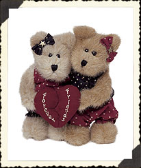 Abby & Katie Foreverfriends Boyds Bear