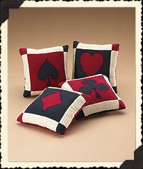 Ace's Accent Pillows Boyds Bear