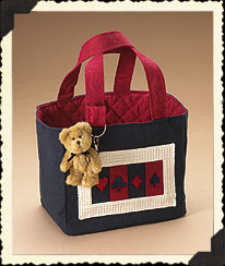 Ace's Small Tote Boyds Bear