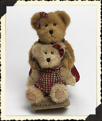 Alexandra & Jessica Bearyfriends Boyds Bear