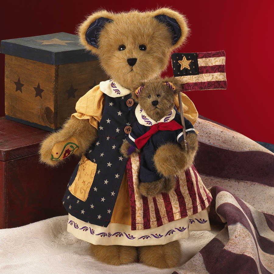 America The Beautiful Boyds Bear