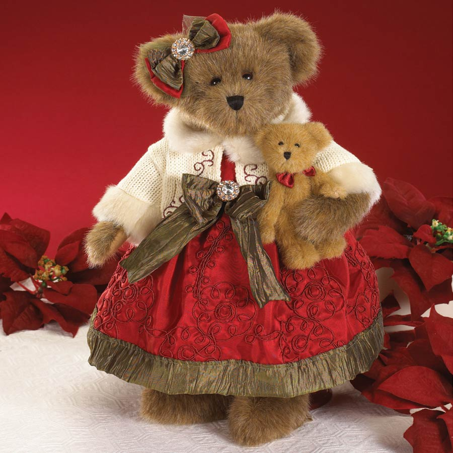 Anastasia Von Crimson With Theodore Boyds Bear