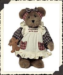 Anna Mae Bakersbear W/ Lil' Snap Boyds Bear