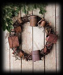 Antique Sprinkle Wreath Boyds Bear