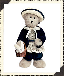 Aunt Mable With Snowy Boyds Bear