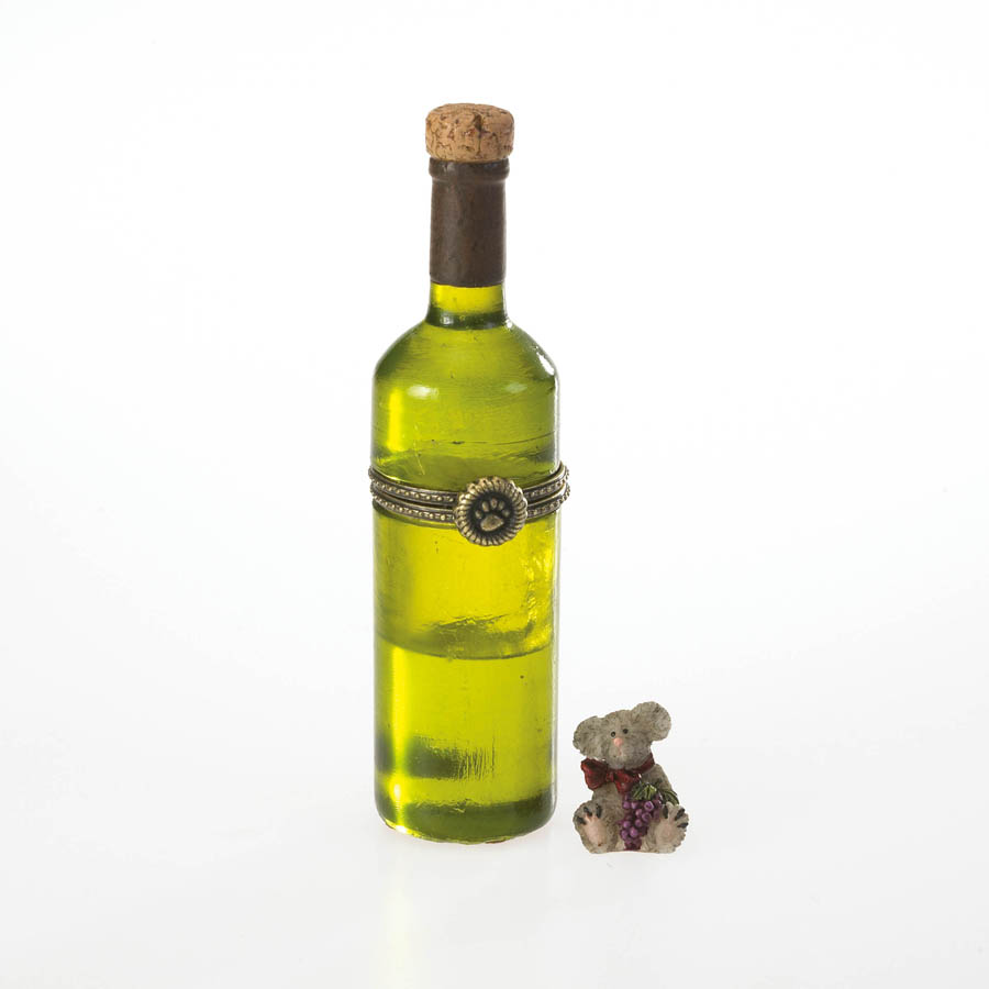 Aunt Vivian's Wine Bottle With Hiccup Mcnibble Boyds Bear