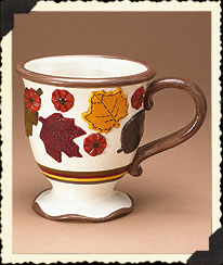 Autumn Leaves 12-oz. Mugs Boyds Bear