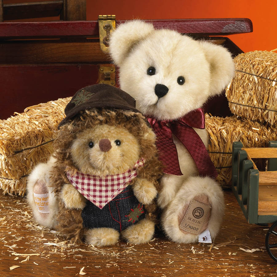 Autumn With Harvey... Fall Time Friends Boyds Bear