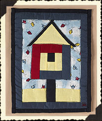 B. Jay's Birdhouse Quilt Boyds Bear