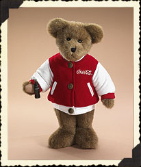Bear In Coke® Letterman Jacket Boyds Bear