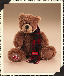 Bear In Coke® Scarf Boyds Bear