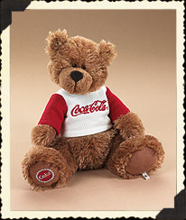 Bear In Coke® Sweatshirt Boyds Bear
