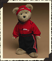 Bear In Firesuit & Cap Boyds Bear