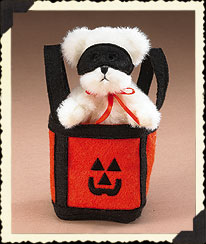Bear In Jack-o-lantern Bag Boyds Bear