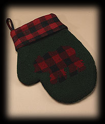 Bear Mitten Stocking Boyds Bear