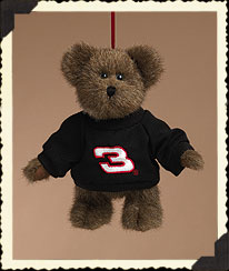 Bear Ornament W/ Black Sweatshirt Boyds Bear