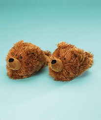 Bear Slippers (youth 10/11) Boyds Bear
