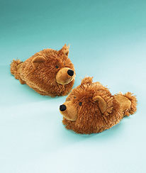 Bear Slippers (youth 1/2) Boyds Bear