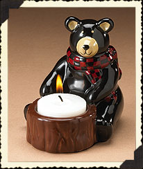 Bear Votive Holder Boyds Bear