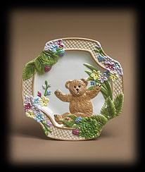 Bears In The Garden Salad/dessert Plate Boyds Bear