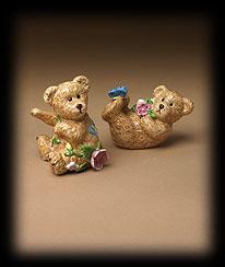 Bears In The Garden Salt & Pepper Shakers Boyds Bear