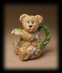 Bears In The Garden Teapot Boyds Bear