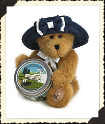 Beary Precious W/candle Boyds Bear
