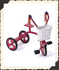 Beary Red Tricycle Boyds Bear
