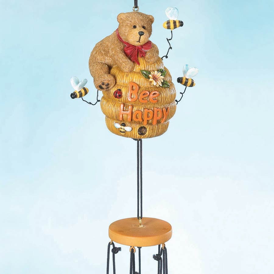 Bee Happy Wind Chime Boyds Bear
