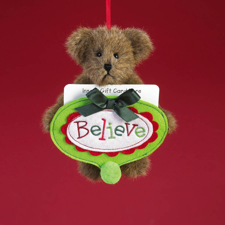 Believe... Bearing Gifts Boyds Bear