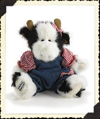 Bessie Lou Augustcow Boyds Bear