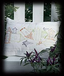 Birdhouse Cushion Cover Boyds Bear