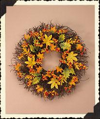 Bittersweet Wreath Boyds Bear