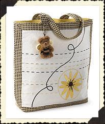 Black-eyed Susan Large Tote Bag Boyds Bear