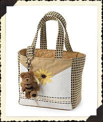 Black-eyed Susan Small Tote Bag Boyds Bear