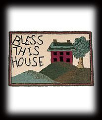 Bless This House Rug Boyds Bear