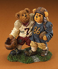 Block And Tackle... Sideline Buddies Boyds Bear