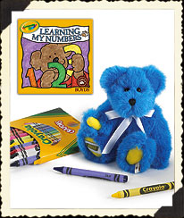 Blue B. Bright Boyds Bear