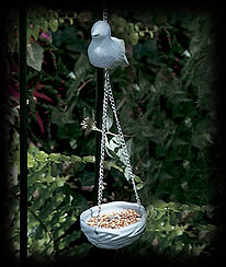 Blue Birds Of A Feather Hanging Feeder Boyds Bear