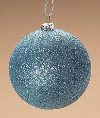 Blue Snow Ball Ornament Boyds Bear