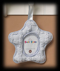 Blue Star Picture Frame Boyds Bear
