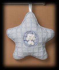 Blue Star Pillow Boyds Bear
