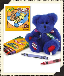 Bluebeary Boyds Bear