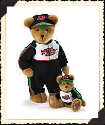 Bobby Labonte Armature Bear Boyds Bear