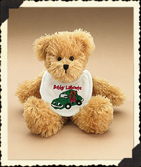 Bobby Labonte Baby Bib Bear Boyds Bear